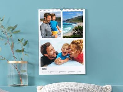 Fotokalender mit Gutscheinen.