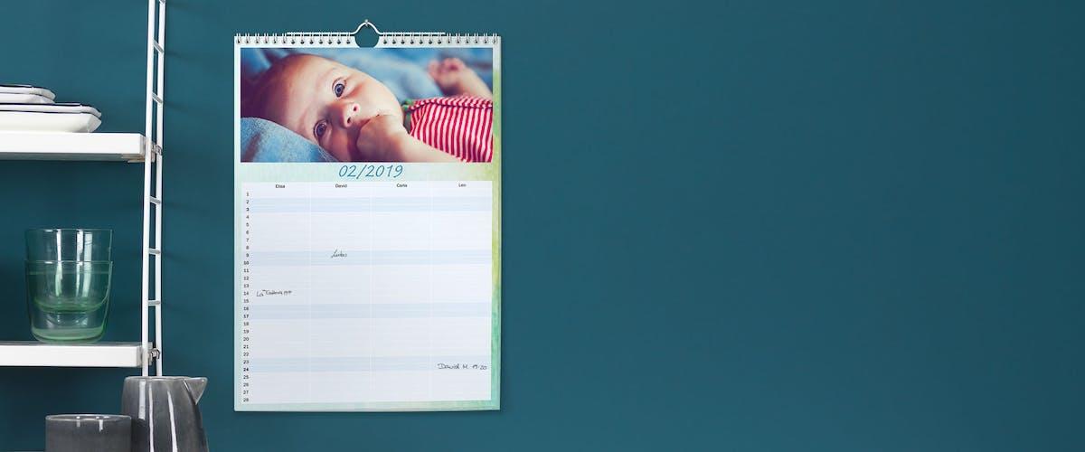 Temabaserade designs till din Pixum fotokalender
