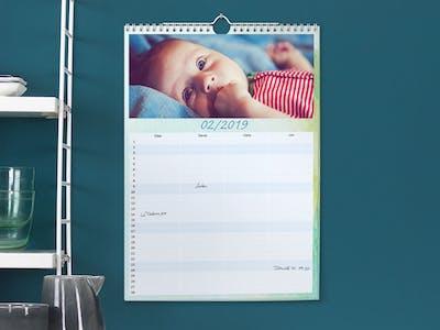 Babykalender im Terminkalenderformat