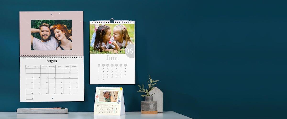 Individueller Jahreskalender