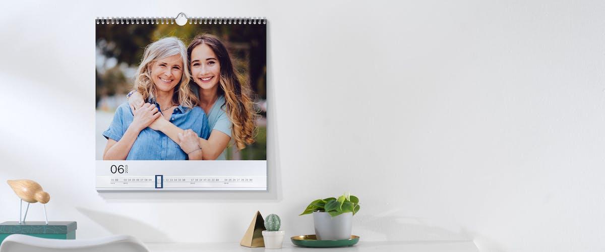Pixum Wandkalender richtig aufhängen
