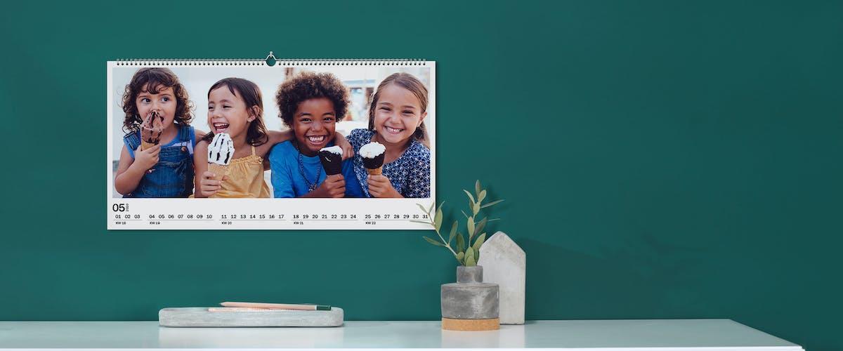 Kuponkalender med gavekort til hver måned