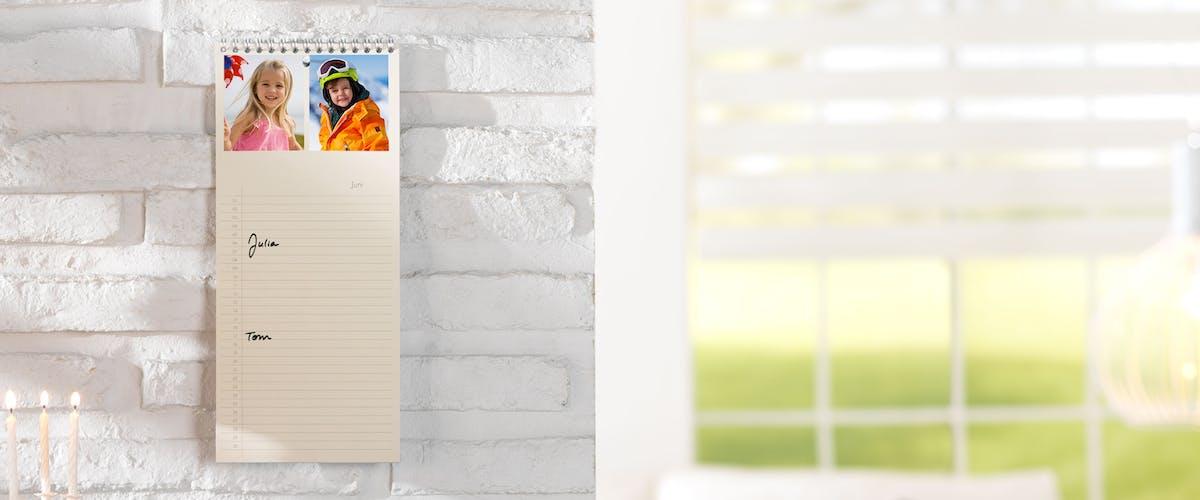 Tidlös planeringskalender