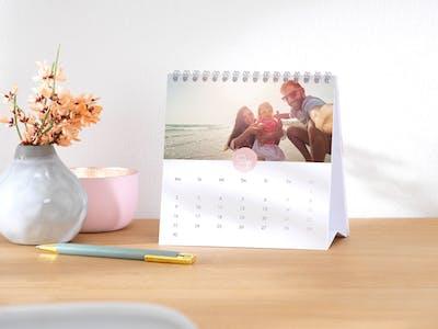 Kalender mit Kindern.