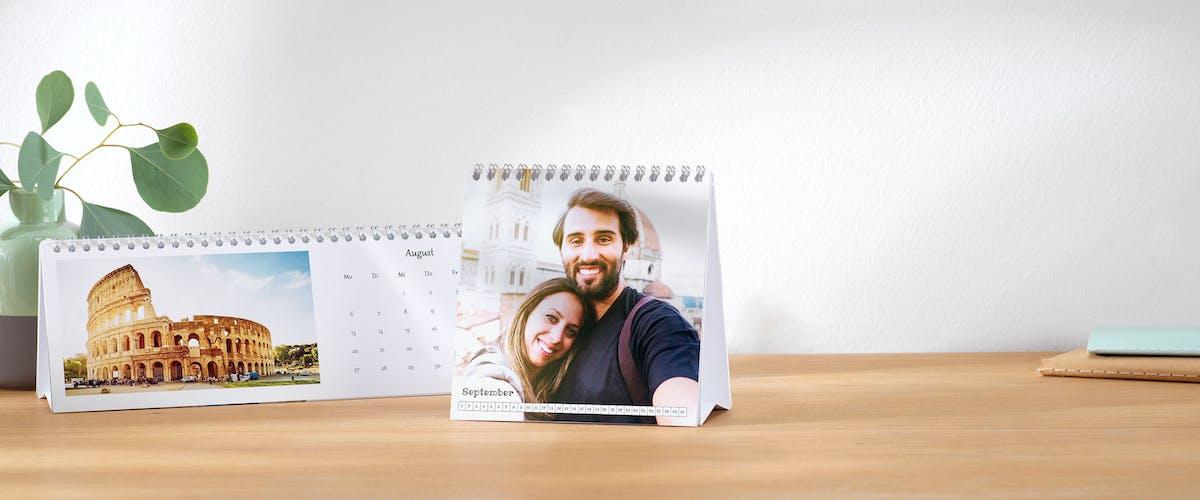 Fotokalender Papierarten im Überblick