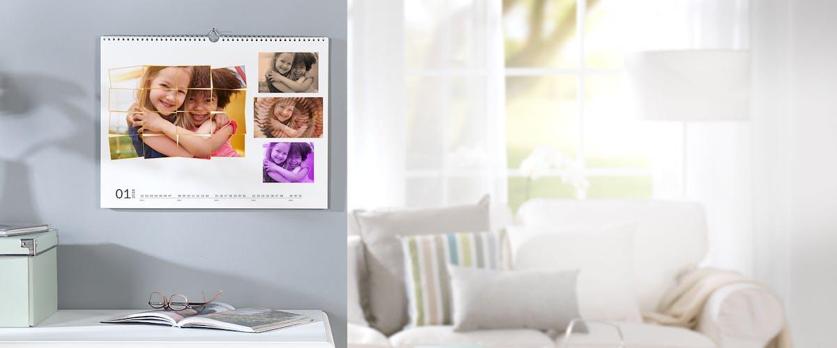 Fotobewerking voor fotokalenders