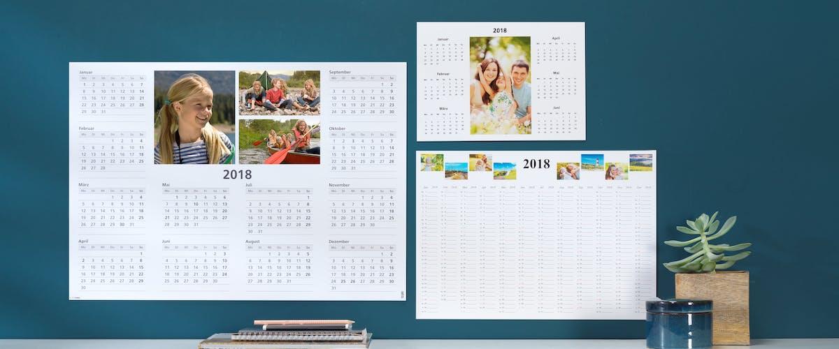 Jahresplaner fürs Büro gestalten