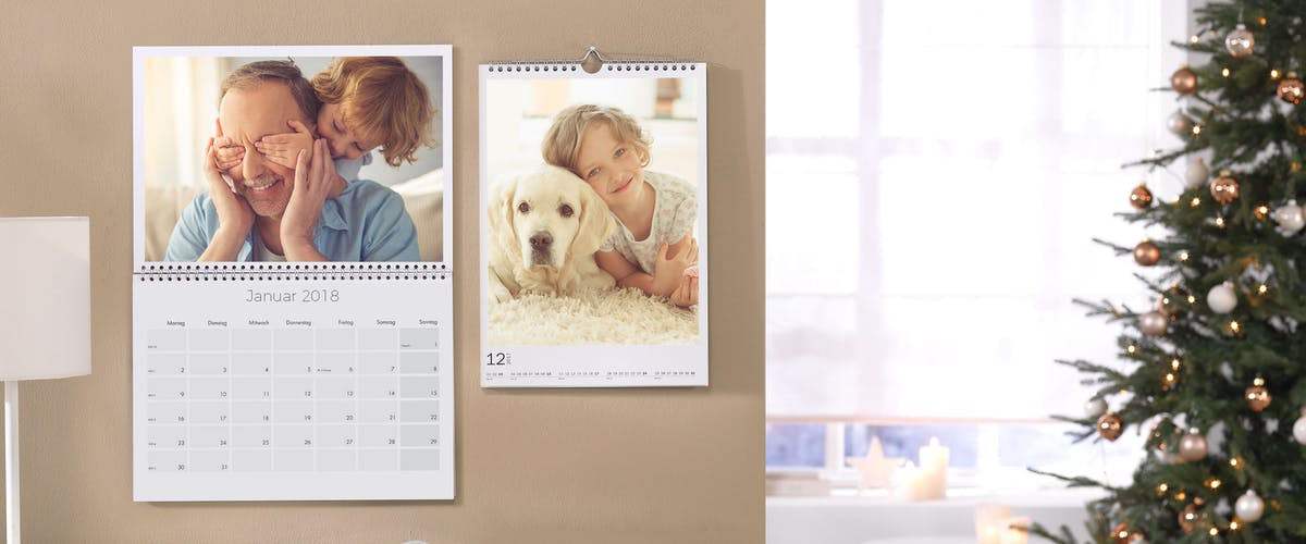 Lav en familiekalender med flere spalter