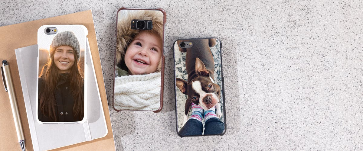 Custom smartphone case with your photo
