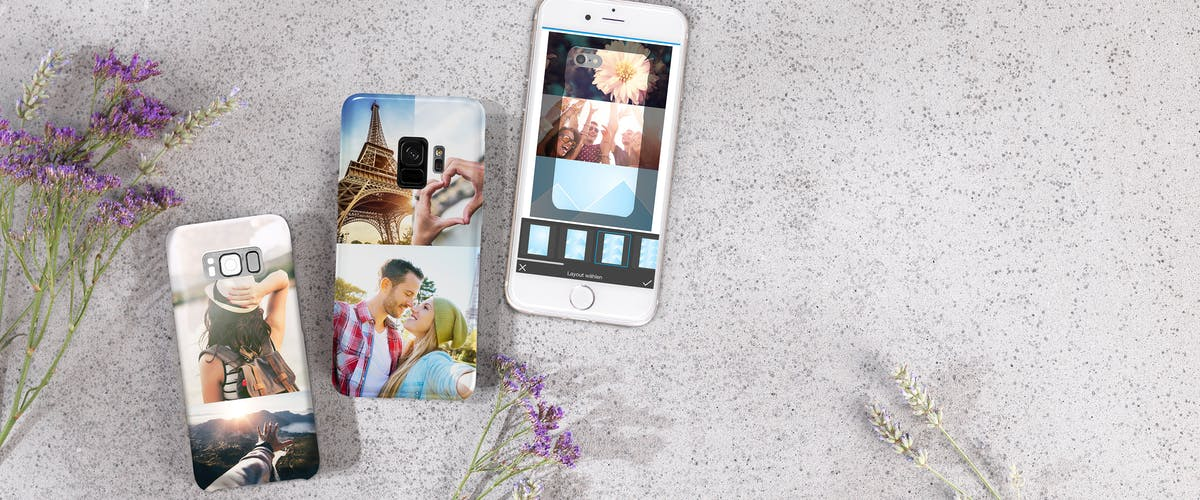 NEW: Photo collages for your phone case