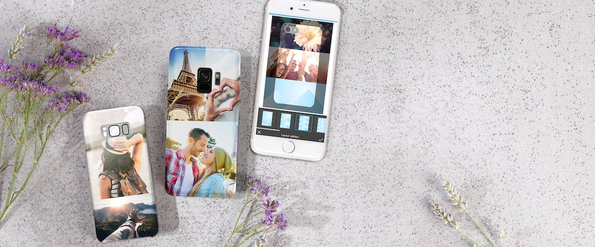 Photo collages for your phone case