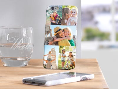 Create a smartphone case collage with numerous family photos - directly online at Pixum!
