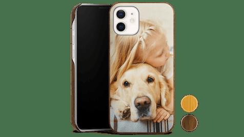 Holz-Premium-Case Handyhülle