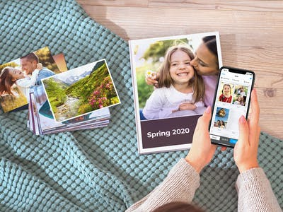 Keep your precious memories forever with photo gifts designed on the Pixum app.
