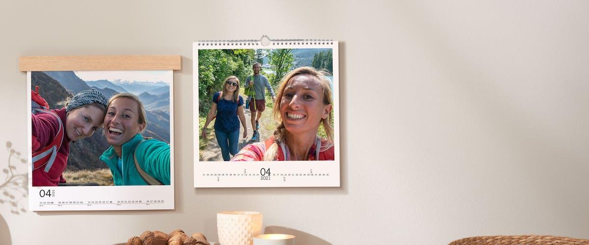 Fotokalender Beispiele