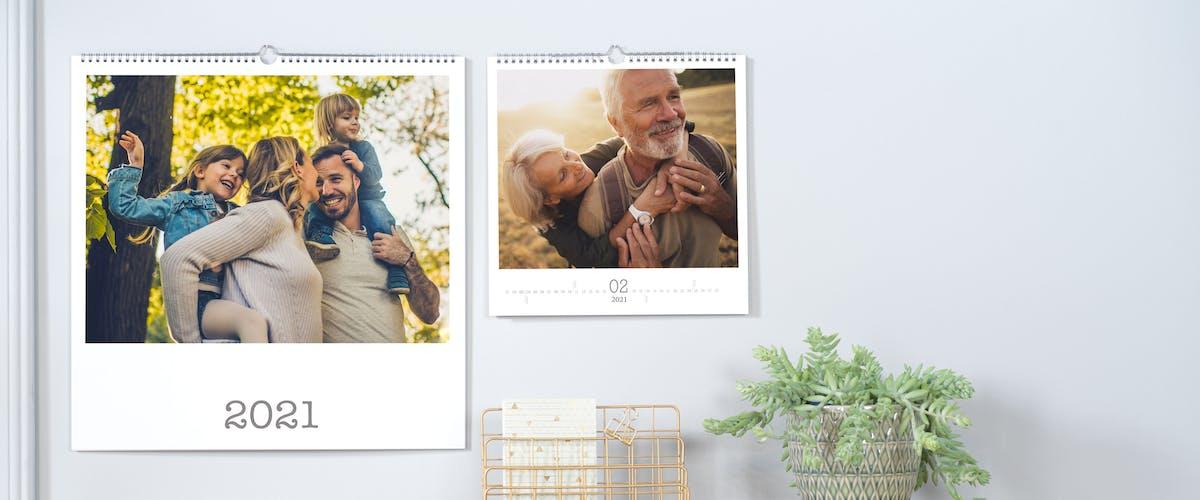 Diseña un calendario de cumpleaños