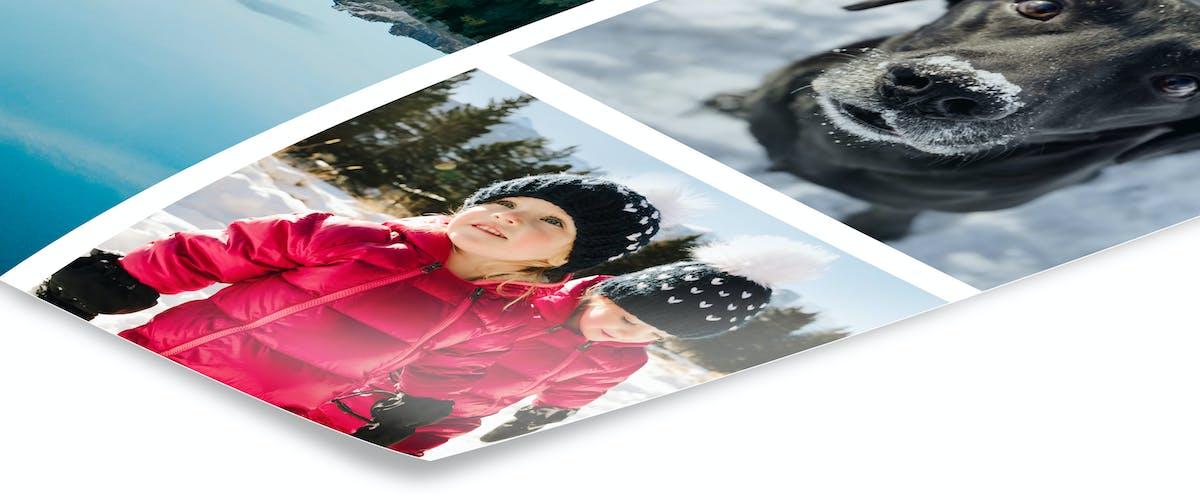 Fotoposter als Collage gestalten