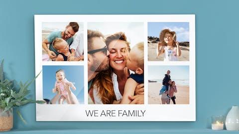 Create a Multi-photo Wall Art: a Photo Collage