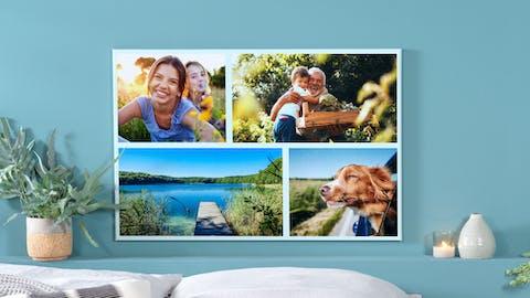 Foto-Collage aus deinen Bildern