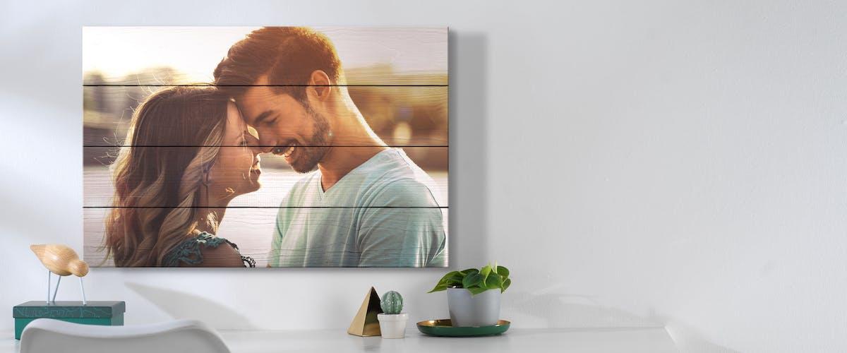 Jouw foto gedrukt op hout