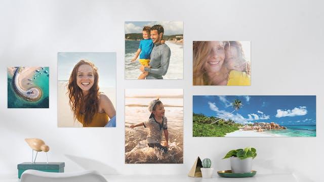 förstora fotografi till tavla
