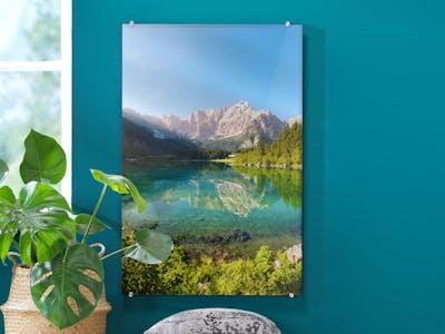 Acrylglasbild mit Halterung