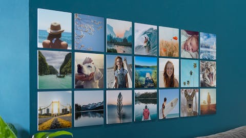 Crear collage de pared con Squares