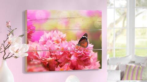 Foto op hout 20×30 cm