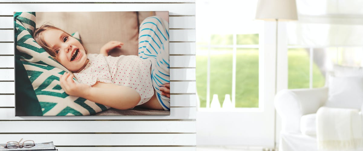 CREATE A CANVAS PRINT WITH YOUR OWN SNAP