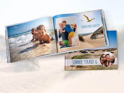 Anv�nd egna bilder som bakgrund i din fotobok.