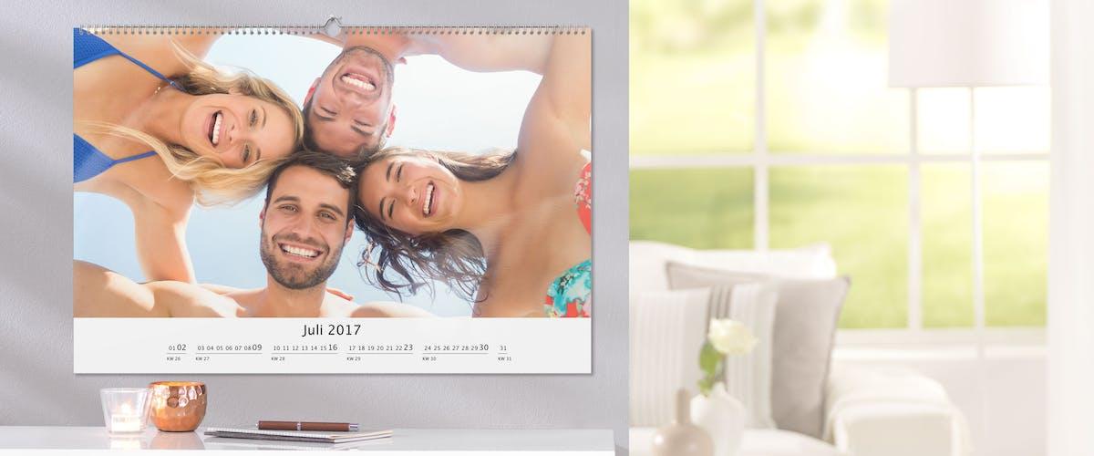 Wandkalender Mauritius-Urlaub