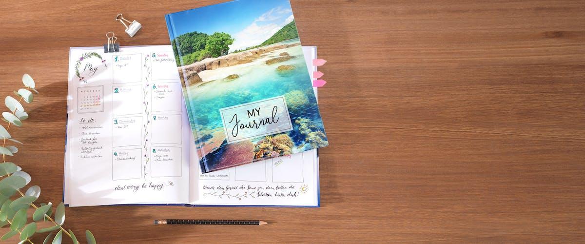 Kreatividee für dein Fotonotizbuch