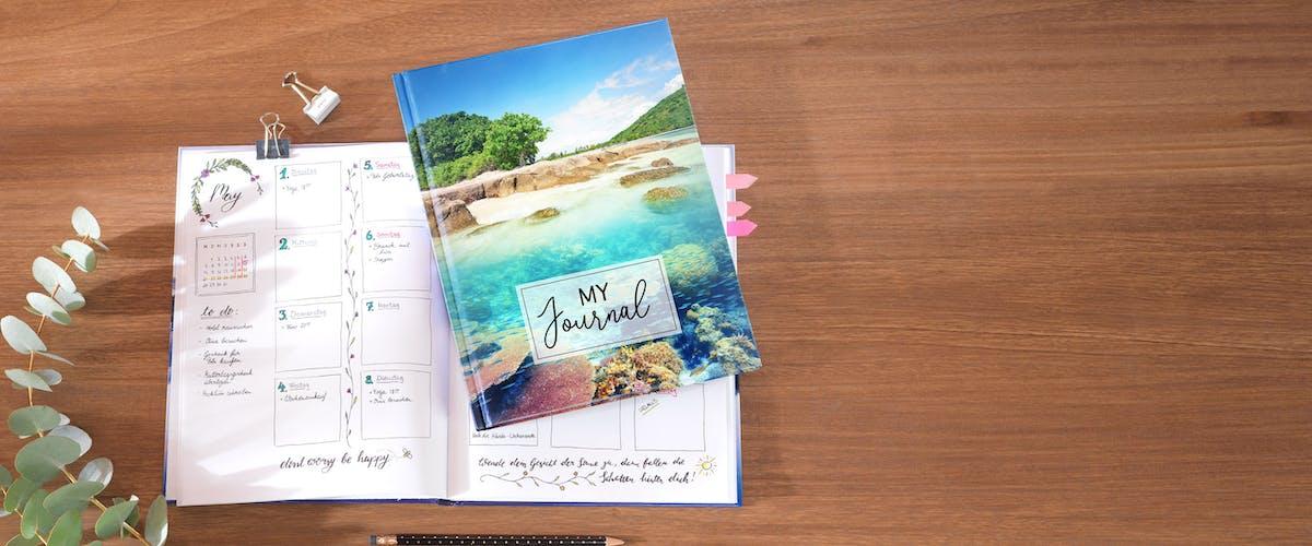 Reisetagebuch selbst gestalten