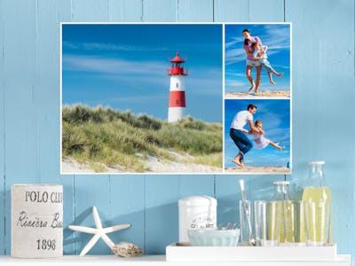 Crea il tuo poster collage con le tue foto preferite.