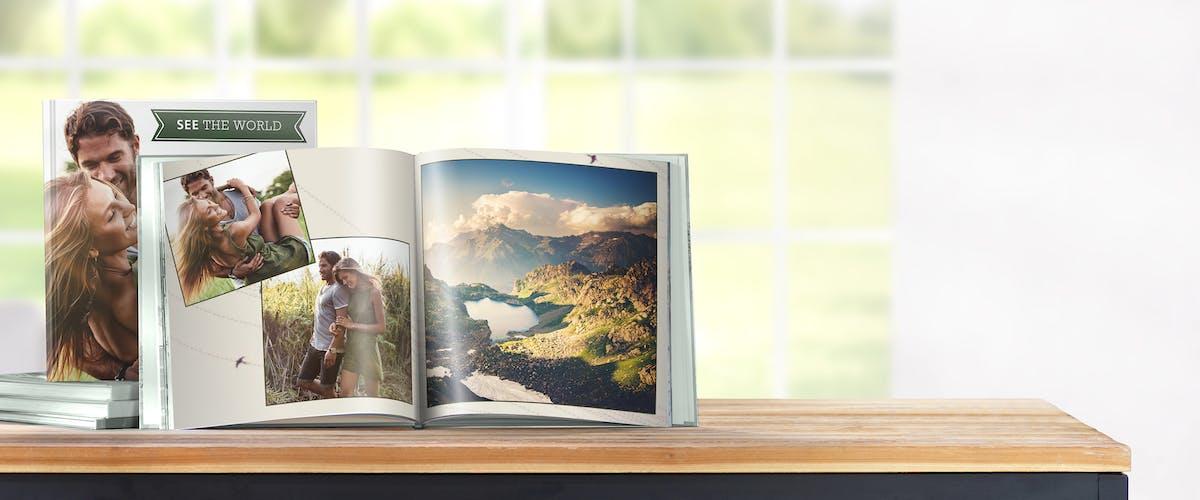 Fotobuch von deinem Urlaub gestalten