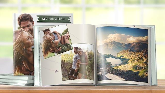 Individuelles Urlaubsfotobuch Gestalten Erstellen Pixum