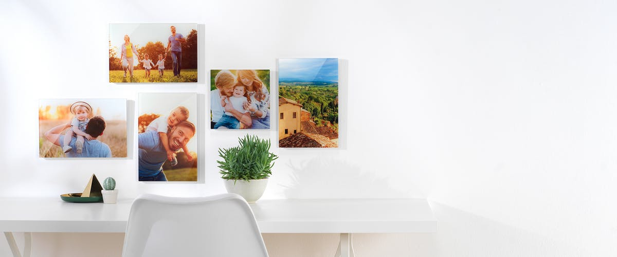 Order prints online and find out how to arrange your picture wall
