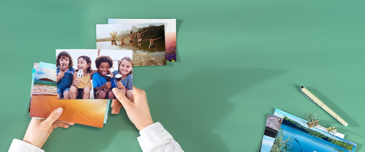 Photo prints on premium paper
