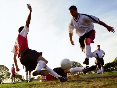 Fußballspieler.