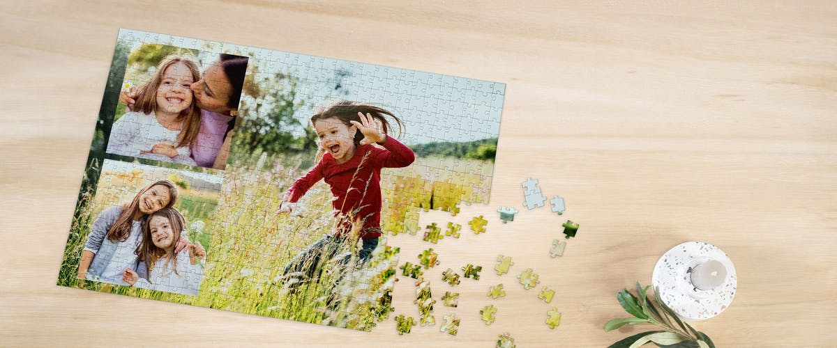 Fotopuzzle-Collage gestalten