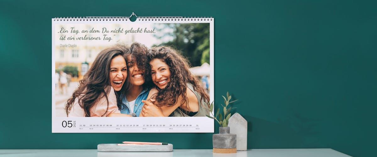 Sprüche-Kalender selbst gestalten