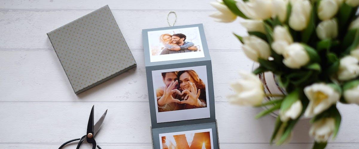 Foto-Leporello zum Valentinstag