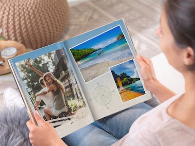 Design your Pixum Photo Book step by step in the software or directly online