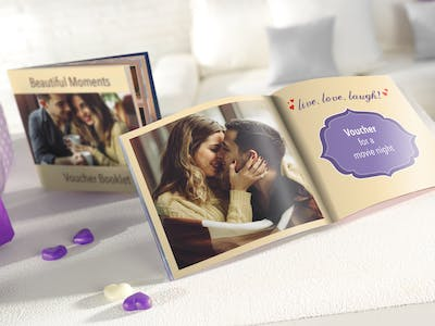 Whether it's Mother's Day or Christmas: A personally designed voucher booklet is a great gift for your loved ones.