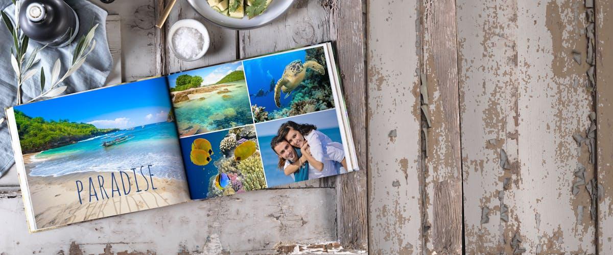 Créer un livre photo en ligne : Dès 7,95¤