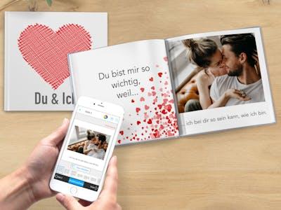 Fotobuch zum Valentinstag