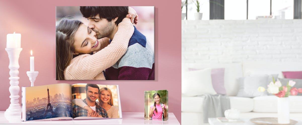 Idées cadeaux pour<br/> la Saint-Valentin