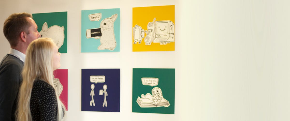 Pixum vægbilleder til din udstilling