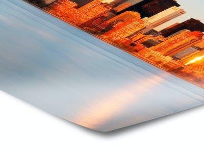 Das Fotoposter von Pixum lässt sich vielseitig gestalten - vom Format bis zur Papierart.