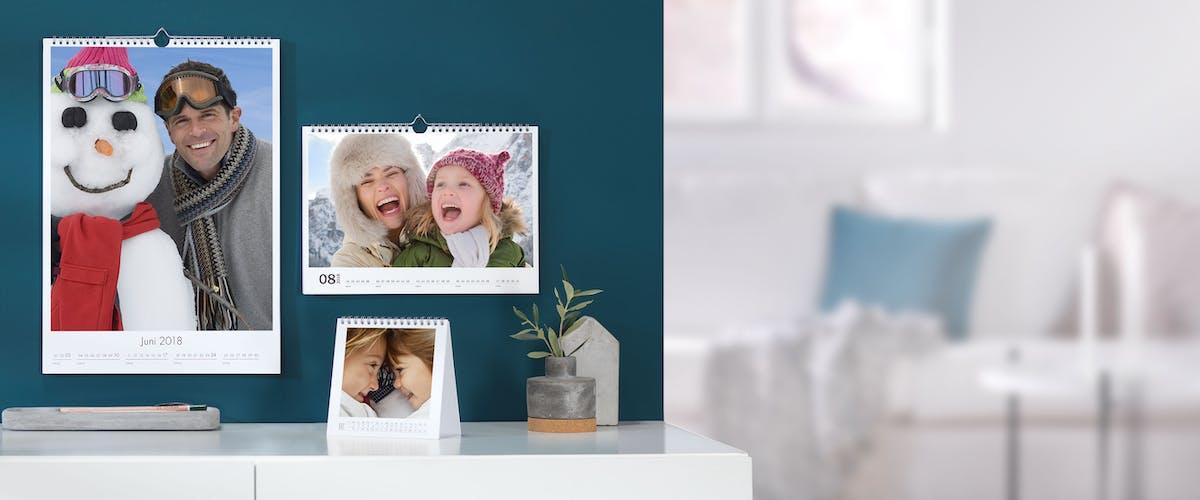 Zeigen Sie Ihren Pixum Fotokalender in den heimischen vier Wänden